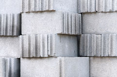Cinder Block Brick. Stock Photos
