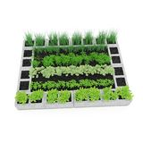 Cinder Block Garden sur un blanc illustration 3D Photo libre de droits