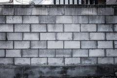 Cinder Block Grungy Fotografie Stock Libere da Diritti