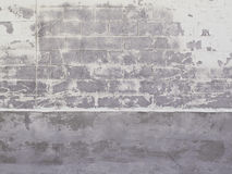 Cinder Block Wall Royalty Free Stock Photography