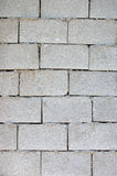 Cinder block wall Stock Photography