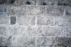 A Cinder Block Wall Background Royalty Free Stock Photo