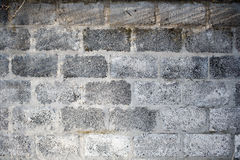 A Cinder Block Wall Background Stock Photo
