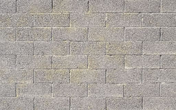 Cinder block wall background Stock Photo