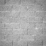 Cinder block wall background Royalty Free Stock Photo