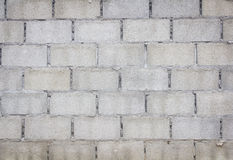 Cinder block wall background, Royalty Free Stock Photography