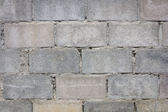 Cinder block wall background, Royalty Free Stock Photo