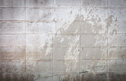 Cinder block wall background Royalty Free Stock Photography
