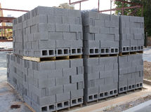 Cinder Blocks Stock Image