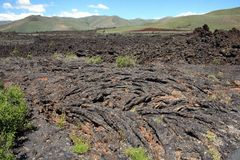 Craters of the Moon National Monument in southern Idaho. stock photos