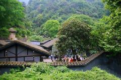 Cinder Cave i Chongqing royaltyfri bild