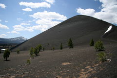 Cinder cone. A dormant volcano in Lassen Volcanic national park, northern California Royalty Free Stock Photography