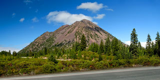 Cinder Cone Royalty Free Stock Images