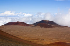 Cinder cone in Hawaii near the summit Royalty Free Stock Photography