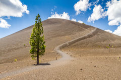 Cinder Cone in Lassen Volcanic National Park Stock Photography