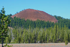 Cinder Cone at Mount Bachelor Royalty Free Stock Photos
