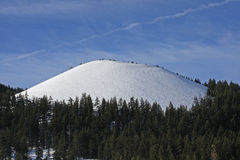 Cinder Cone at Mount Bachelor Royalty Free Stock Images