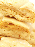Cinder Toffee Close-up Stock Photography