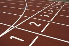 Cinder track Stock Image