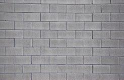 cinderblock干净的墙壁 免版税库存照片