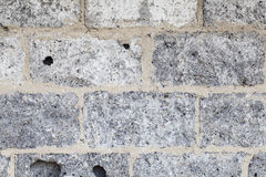 Cinderblock wall background Stock Photography