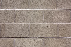 Cinderblock wall Royalty Free Stock Image