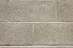 Cinderblock wall Royalty Free Stock Photos