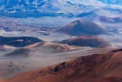 cindercones κρητιδογραφία ηφαιστ&epsil Στοκ εικόνα με δικαίωμα ελεύθερης χρήσης