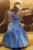 Cinderella στη Disney μαγική Στοκ Εικόνα