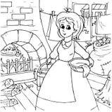 Cinderella Stock Image