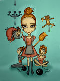 Cinderella Στοκ εικόνα με δικαίωμα ελεύθερης χρήσης