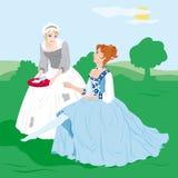 Cinderella royalty free stock photos