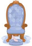 Cinderella Ballroom Throne stock illustratie