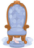 Cinderella Ballroom Throne Royalty Free Stock Images