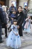 Cinderella bij het Palladium van Londen royalty-vrije stock foto's