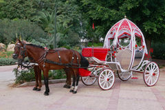 Cinderella carriage Royalty Free Stock Photography