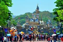 Cinderella castle royalty free stock image