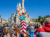 Cinderella Castle, Magic Kingdom Stock Photo