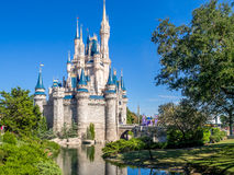 Cinderella Castle, Magic Kingdom. Cinderella Castle in the day in Orlando, Florida. Magic Kingdom is the most visited theme park stock photography