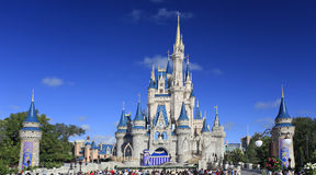 Cinderella Castle, Magic Kingdom, Disney. In Florida, United States of America Royalty Free Stock Photos