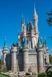 Cinderella Castle at The Magic Kingdom, Walt Disney World. Orlando, Florida: December 2, 2017: Cinderella Castle at The Magic Kingdom, Walt Disney World.  In Stock Photography