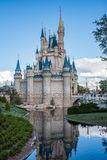Cinderella Castle at The Magic Kingdom, Walt Disney World. royalty free stock photography