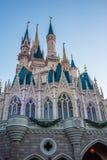 Cinderella Castle at The Magic Kingdom, Walt Disney World. Orlando, Florida: December 2, 2017: Cinderella Castle at The Magic Kingdom, Walt Disney World. In Royalty Free Stock Image
