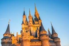 Cinderella Castle at The Magic Kingdom, Walt Disney World. Orlando, Florida: December 2, 2017: Cinderella Castle at The Magic Kingdom, Walt Disney World. In Royalty Free Stock Images