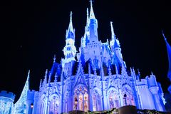 Cinderella Castle at The Magic Kingdom, Walt Disney World. royalty free stock image