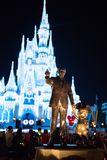 Cinderella Castle at The Magic Kingdom, Walt Disney World. Orlando, Florida: December 2, 2017: Cinderella Castle at The Magic Kingdom, Walt Disney World. In Stock Photography