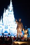 Cinderella Castle at The Magic Kingdom, Walt Disney World. Orlando, Florida: December 2, 2017: Cinderella Castle at The Magic Kingdom, Walt Disney World. In Stock Photo