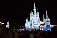 Cinderella Castle at The Magic Kingdom, Walt Disney World. royalty free stock photo
