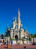 Cinderella Castle, Magisch Koninkrijk Royalty-vrije Stock Afbeeldingen