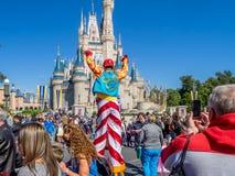 Cinderella Castle magiskt kungarike Arkivfoto